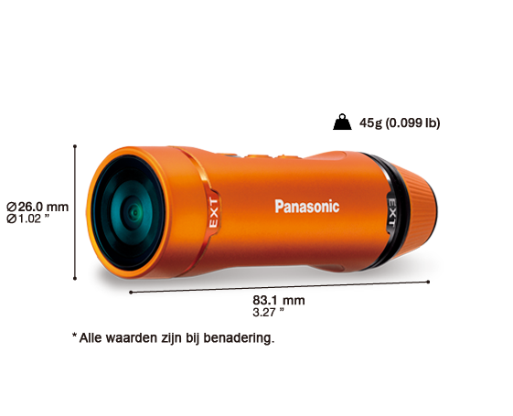 panasonic HXA1 mobiele camera wifi
